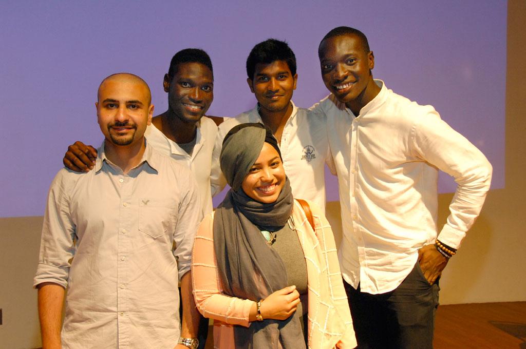 Part of the Immigrant U creative team.