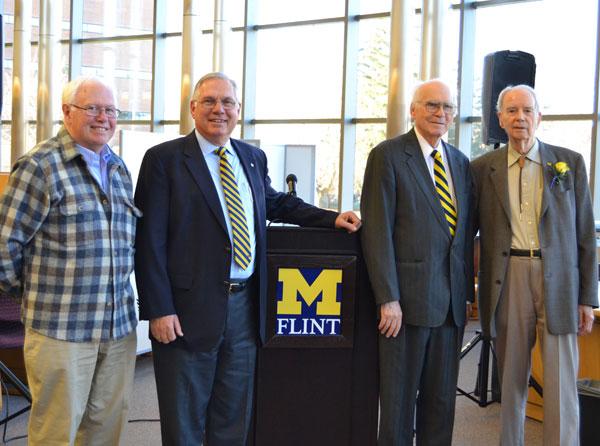 Dr. Don Boys, David Zick, Dr. Frank Rose, and Dr. Donald DeGraaf.