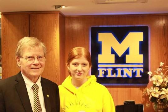 Edwin Gullekson (L) and Jenna Gullekson (R)