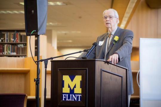 UM-Flint faculty member Dr. Donald DeGraaf