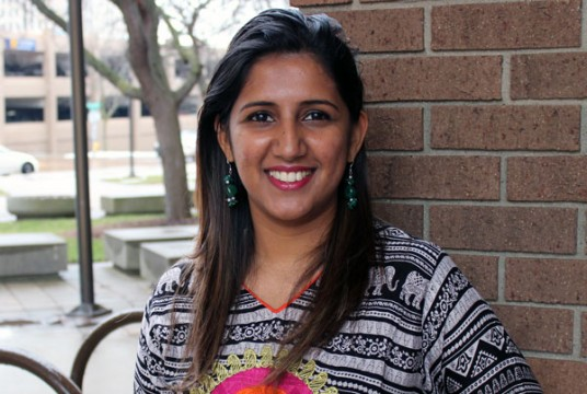 Nilu Rajput, graduate student in UM-Flint's Early Childhood Education Program