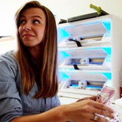 Kayla Cornell, owner of Oh Hello Stationery