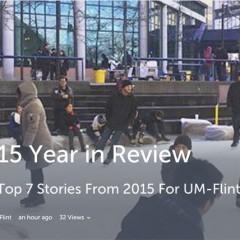 Top 7 UM-Flint news stories of 2015