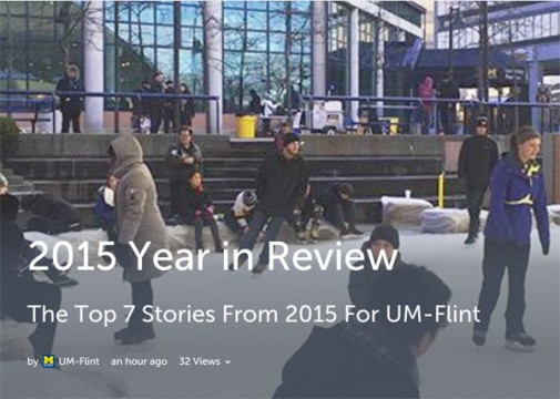 Top 7 UM-Flint news stories of 2015