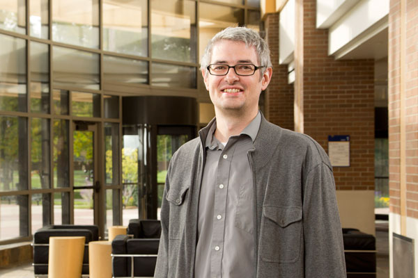 UM-Flint assistant professor of physics James Alsup, PhD