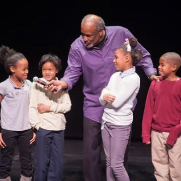 Author & UM-Flint Alumnus Christopher Paul Curtis Inspires Flint Fourth Graders