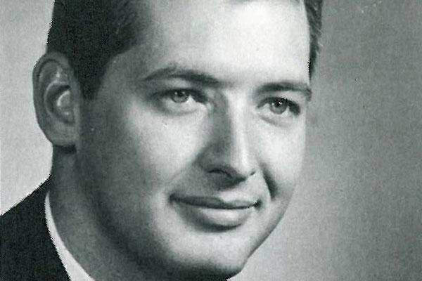 William Shedd's senior picture in the 1964 yearbook.