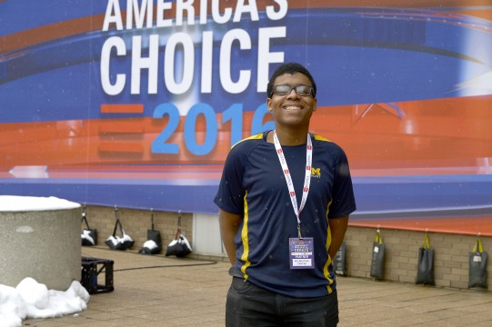 UM-Flint Student Tyler McKinley Joyce