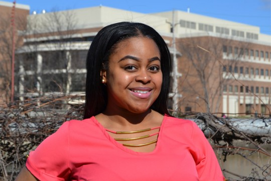 UM-Flint Communication Major Tajhae Barr