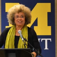 Angela Y. Davis at UM-Flint