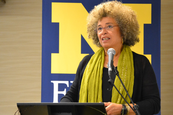 Angela Davis at the University of Michigan-Flint