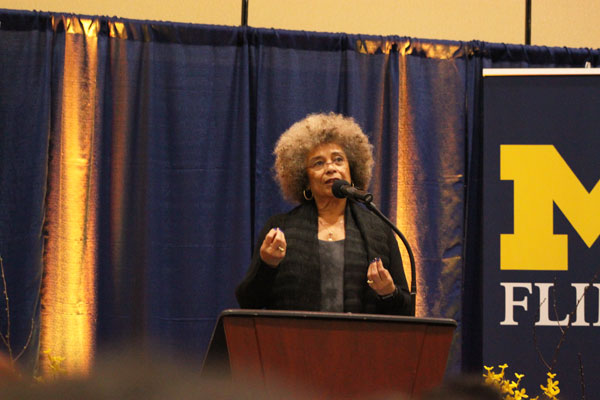 Angela Y. Davis is UM-Flint's 11th Winegarden Visiting Professor.