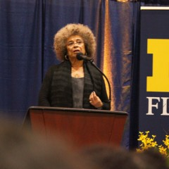 Angela Y. Davis delivers inspiring public lecture at UM-Flint.