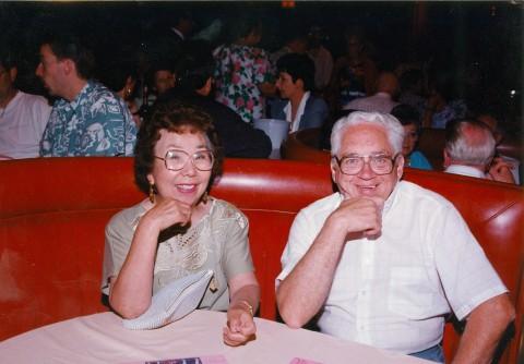 """Chieko """"Peggy"""" Fesmire and Walker E. Fesmire"""