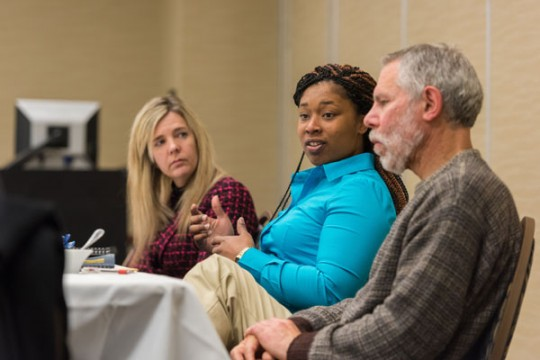UM-Flint faculty discuss water crisis recovery initiatives.