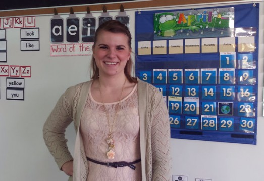 Anneke Hoogenstryd, UM-Flint education student.