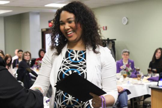 UM-Flint Lavender Graduation