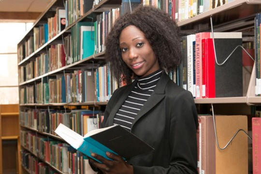 UM-Flint graduate Nubwa Gadzama works to ensure education for victims of Boko Haram.