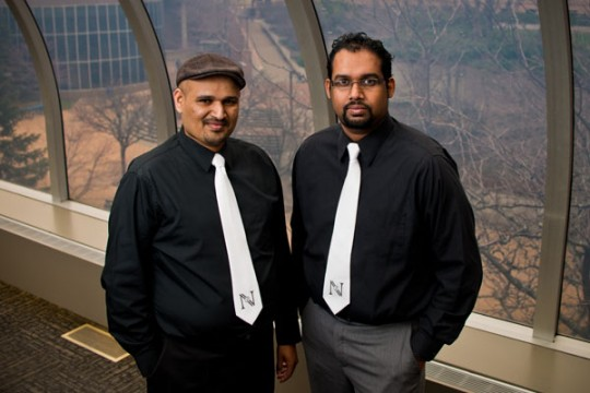 NV2 Escape Adventures, formed by Vino Raj (right).