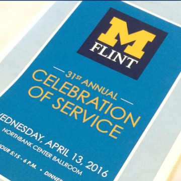 UM-Flint's 31st Annual Celebration of Service