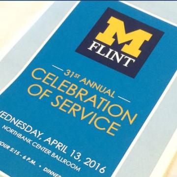 UM-Flint's 31st Annual Celebration of Service