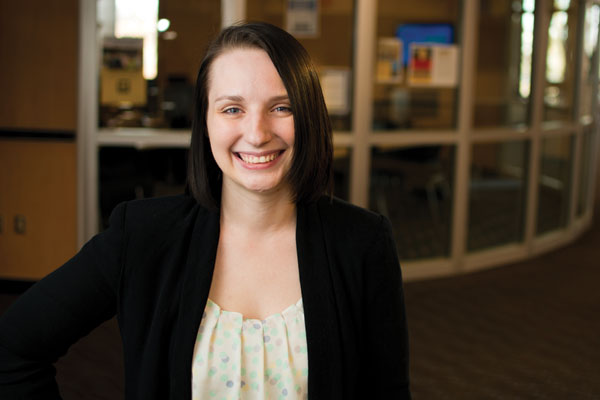 Holly Kilburn is the student speaker for the commencement ceremony at 3 p.m. on May 1.