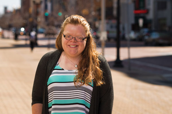 Saydee Robinson is the student speaker for the 11 a.m. commencement ceremony on May 1.