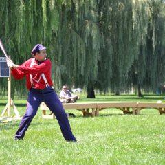 Lumber City Base Ball Club at Ojibway Island Park.