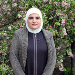 Recent UM-Flint graduate Hana Sankari supports the Syrian people as she looks forward to entering the field of education.