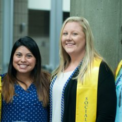 UM-Flint social work graduates.