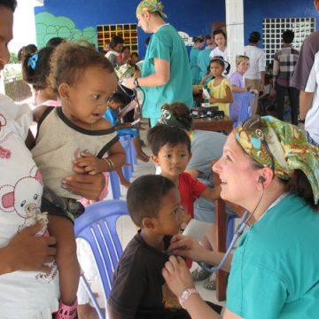UM-Flint Nursing, PT Departments Travel to Cambodia