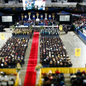 UM-Flint Honors Graduates at Record-Setting Spring Commencement