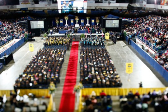 UM-Flint Class of 2016 May Commencement at Dort Federal Credit Union Arena