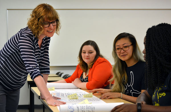 Feueherm's latest research flows from her work teaching English as a Second Language (ESL)