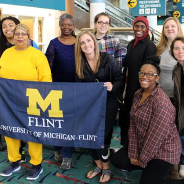 UM-Flint Students Depart for South Africa Study Abroad Trip
