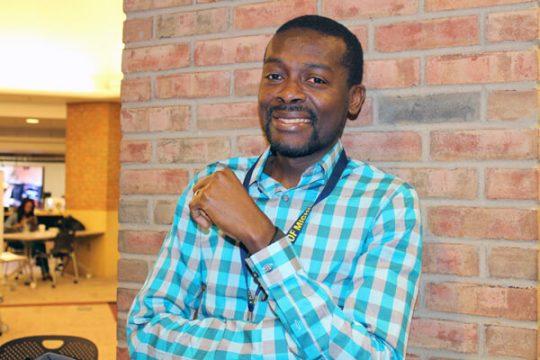 UM-Flint student Maxwell Dziku
