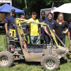 UM-Flint students and faculty at Baja competition