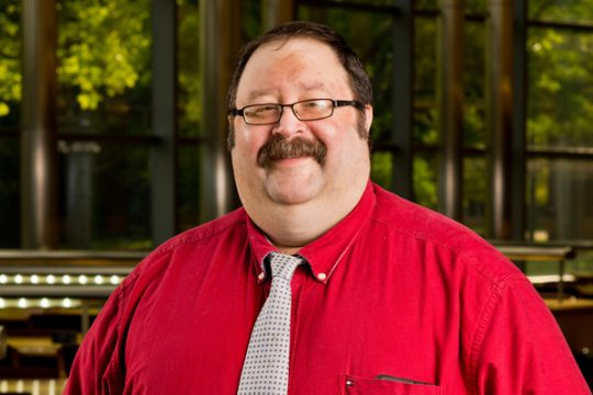 Jeff Dobbs - UM-Flint Staff member in the Student Success Center