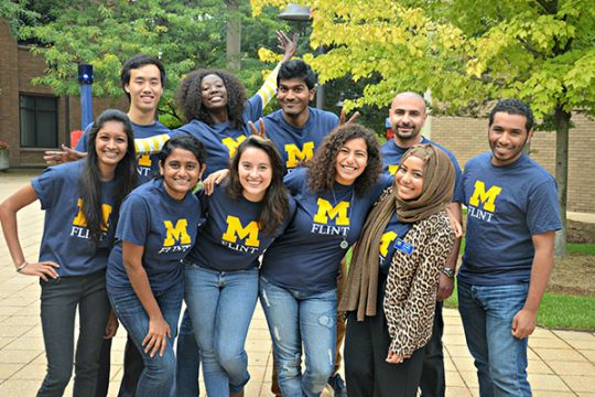 UM-Flint International Student Ambassadors