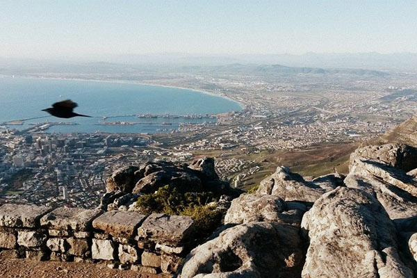 Cape Town, South Africa, as seen by UM-Flint student Christen Rachow