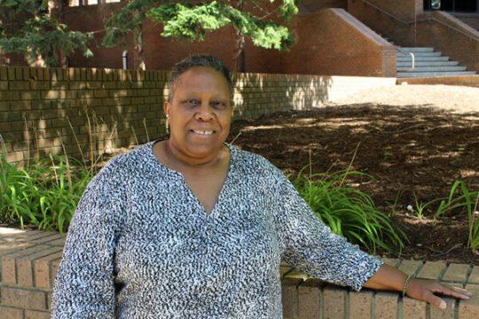 UM-Flint Social Work alumna Debra McGee