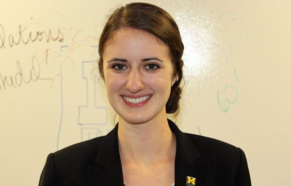 Emily Bank, Career Advisor in the UM-Flint Career Center
