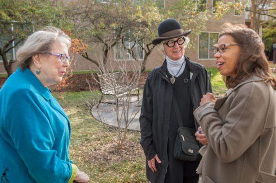 Audrey Snipes Lattie, Maryanne Mott, and Kristin Lindsey.