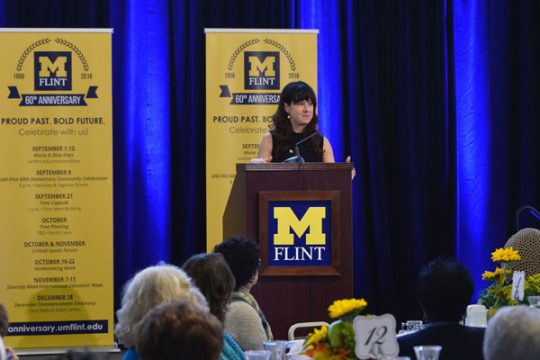 UM-Flint Critical Issues Forum speaker Tracie McMillan