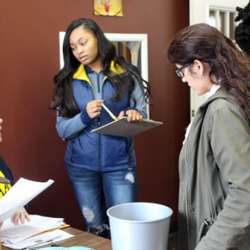 UM-Flint social work students collected data to identify needs and improve resources for residents.