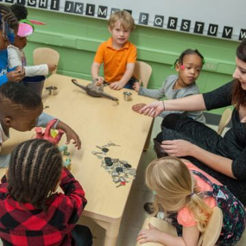 Center Shows UM-Flint's Leadership in Early Education