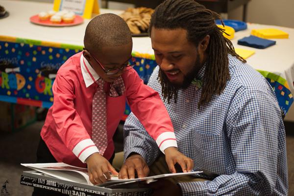 Robert Callahan studied early childhood education at UM-Flint