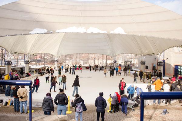 The UM-Flint Ice Rink