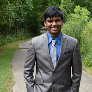 UM-Flint & Alumnus Help Student from India Reach Goals