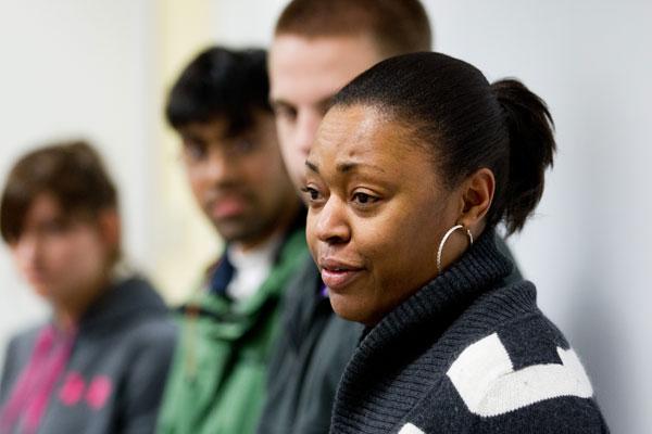 UM-Flint business students